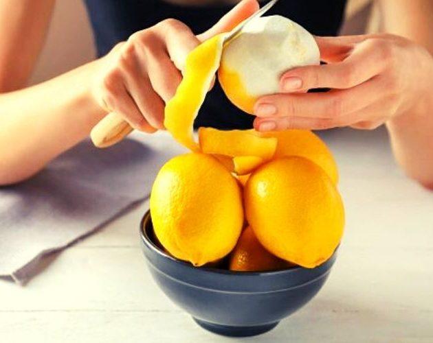 Как использовать лимонную кожуру
