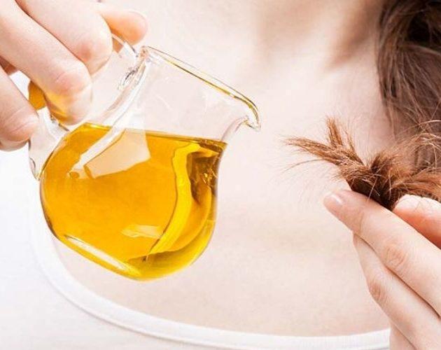 Масло для волос с розмарином и мятой