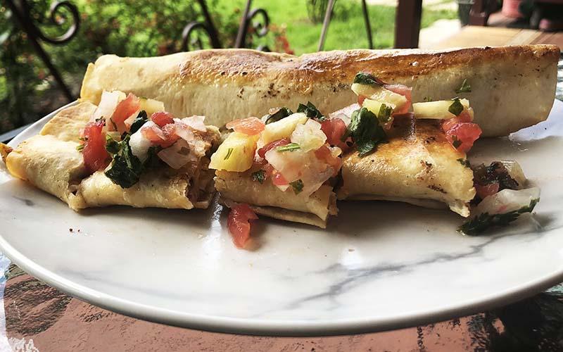Вегетарианские буррито (1-й рецепт)