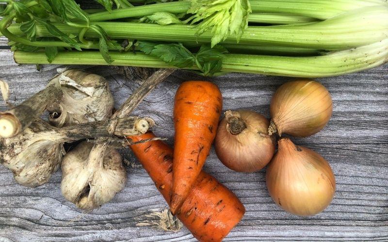 Смесь трав и овощей для бульона