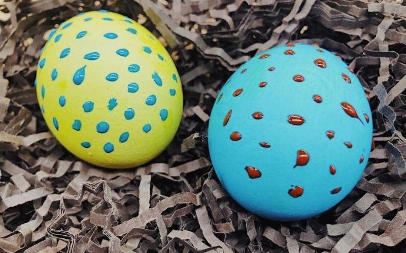 6 дизайнов пасхальных яиц